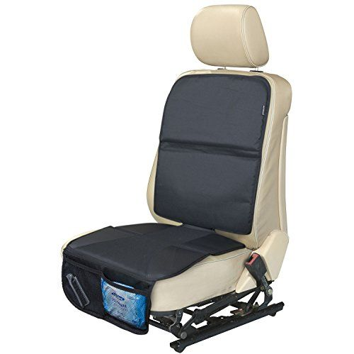 Car Seat Protector for Baby Seat with Mesh Pockets By AutoMuko Keeps