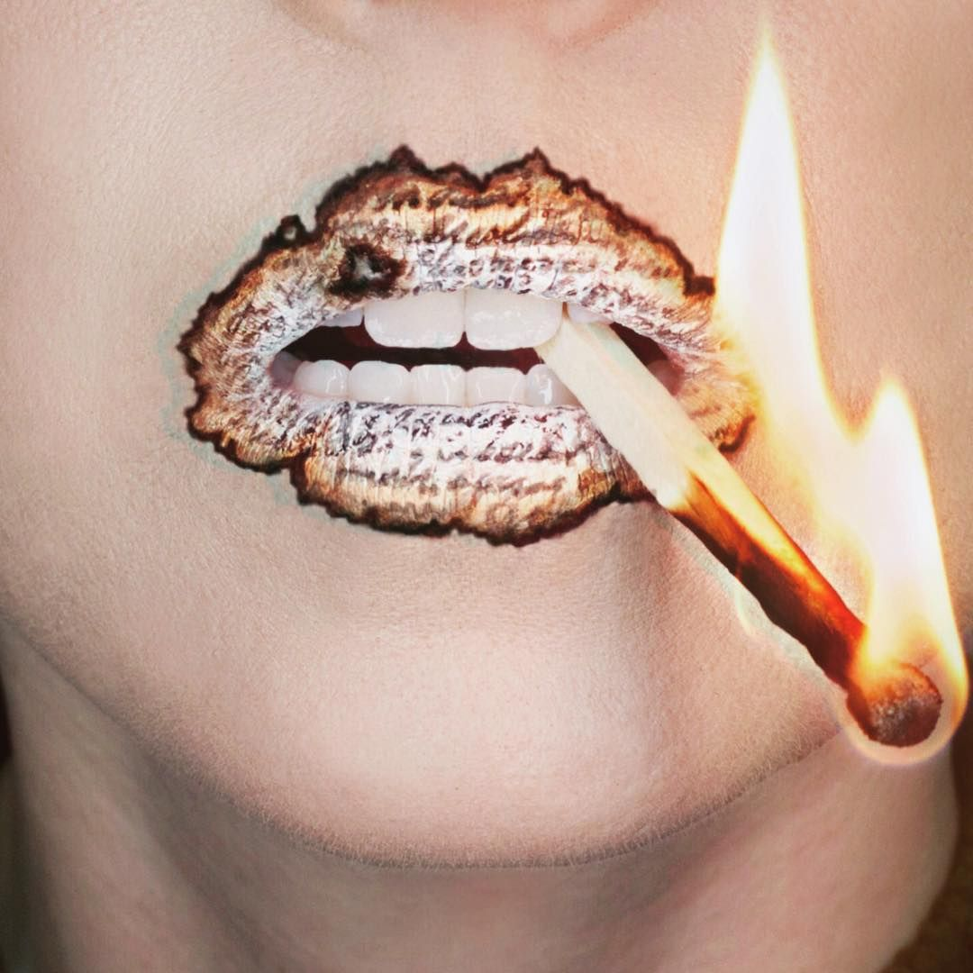 20 Increíbles diseños para decorar tus labios que querrás ...
