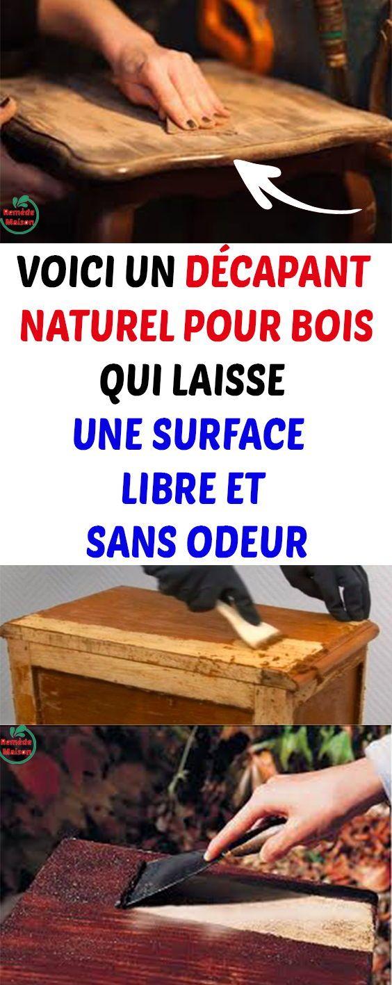 Voici un d capant naturel pour bois qui laisse une surface Astuce pour decaper un meuble en bois