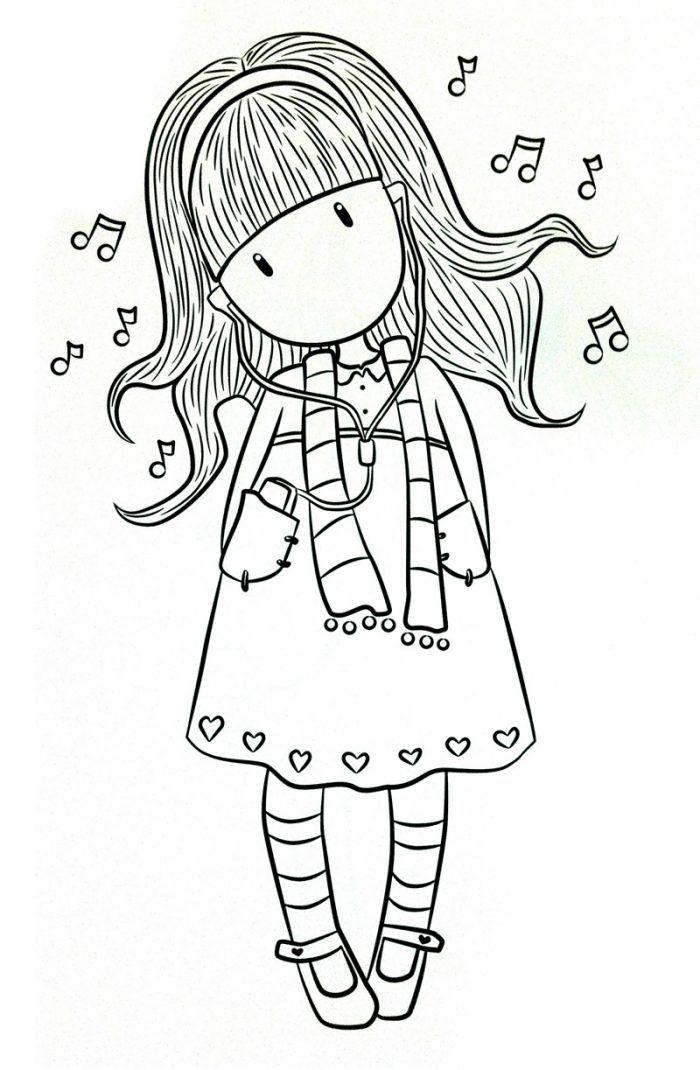 Dibujos de Gorjuss Santoro para colorear e imprimir gratis ...