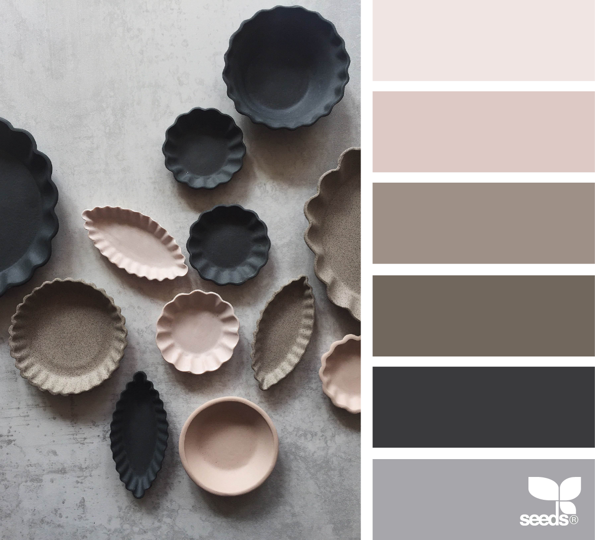Ceramic Hues Taupe Color Schemes Seeds Color Design Seeds
