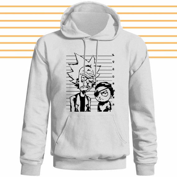 Rick and Morty hoodie by ViruzzBUzt on Etsy