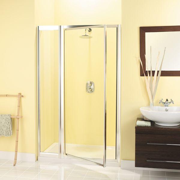 Simpsons Supreme Pivot Door And Inline Panel 1200mm Shower Room Shower Doors Shower Enclosure