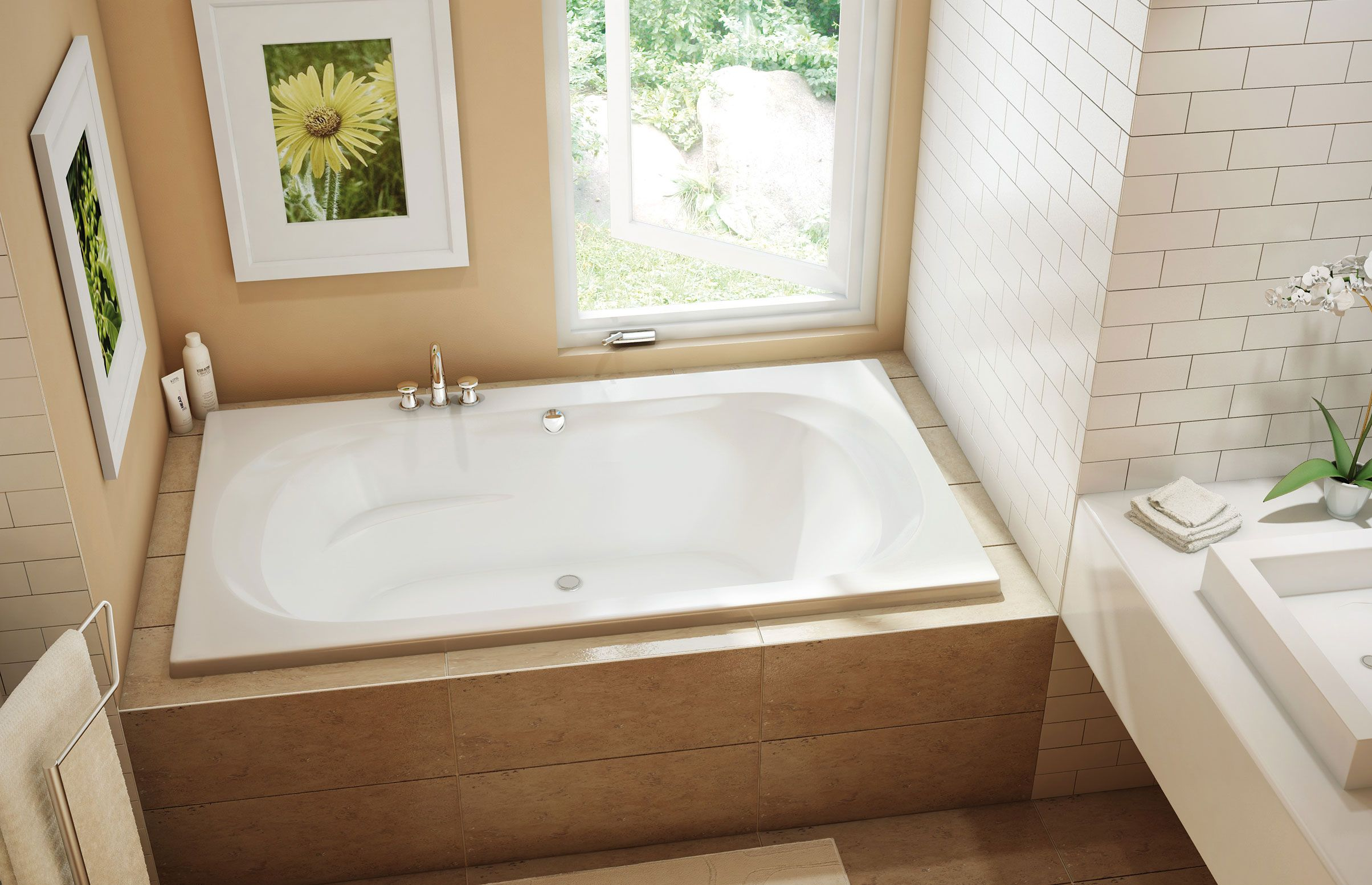 CS 42 Alcove or Drop-in bathtub - Pearl | Bathroom Remodeling ...