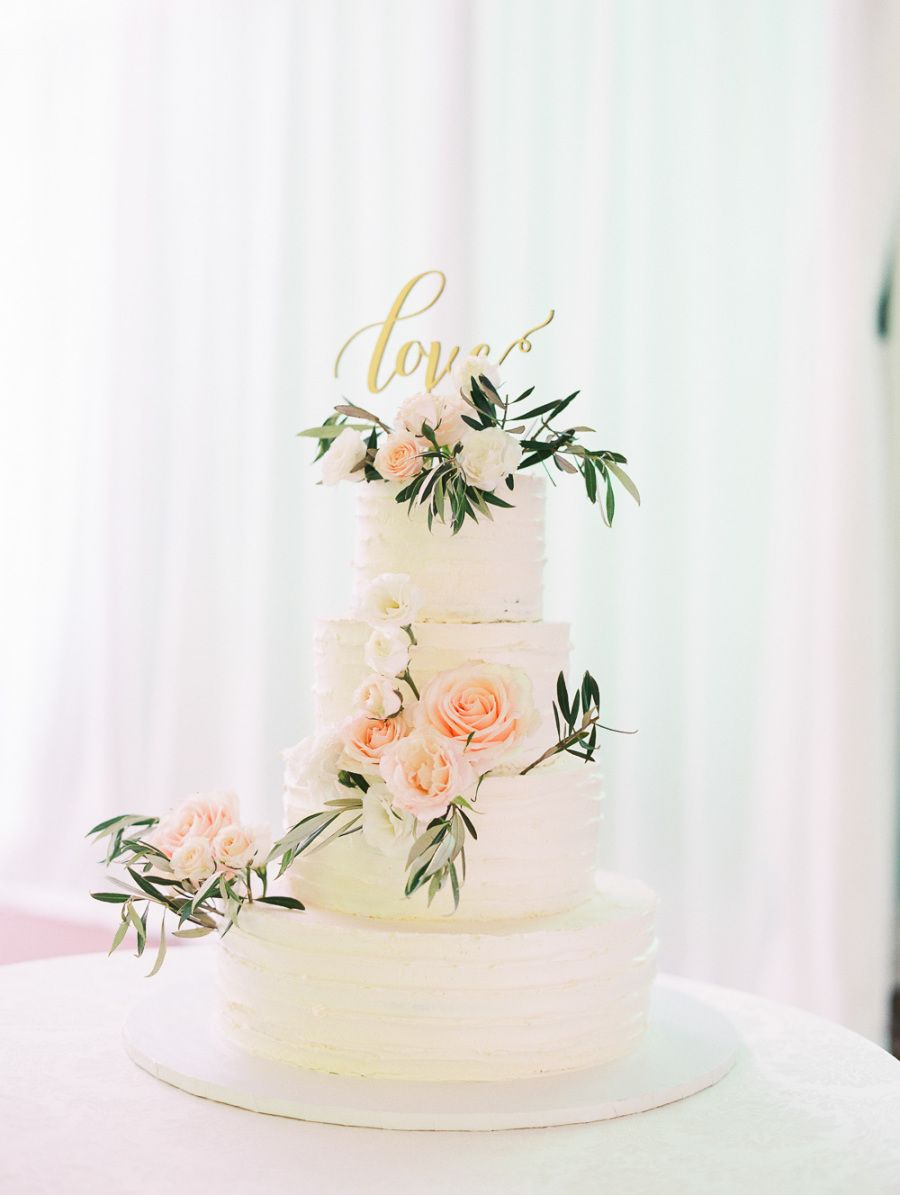 This tented reception was inspired by umy best friendus wedding