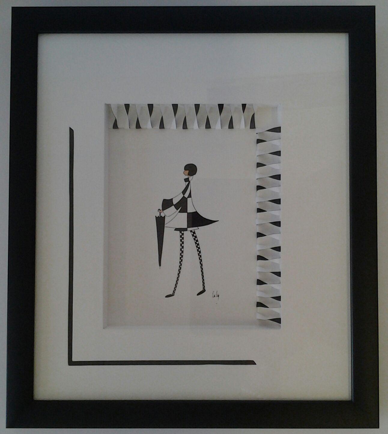 Encadrement on pinterest for Miroir fantaisie