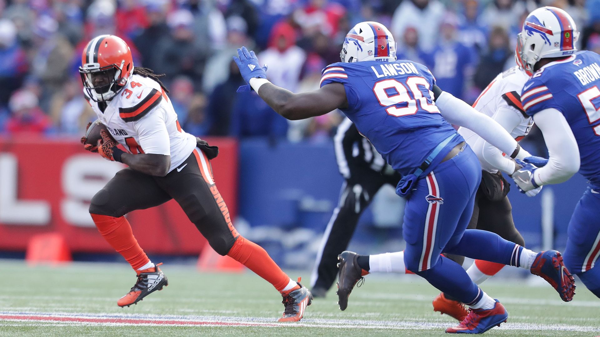 Cleveland Browns VS. Buffalo Bills live video online live