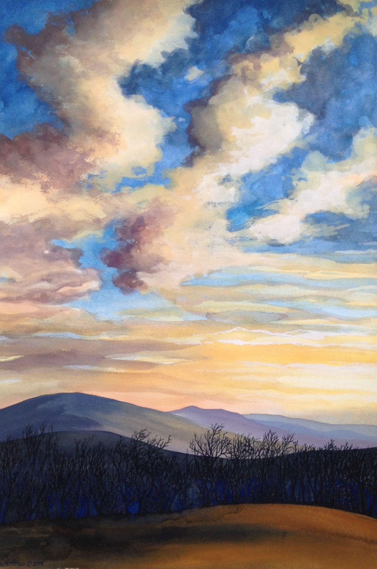 Kesra Hoffman Biography Artist Statement Painting Art Landscape Paintings