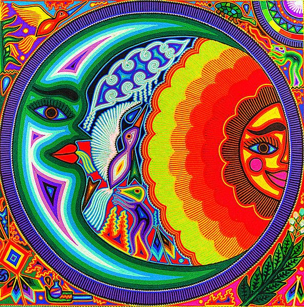 Huichol Art Buscar Con Google Arte Huichol Arte Arte Nativo