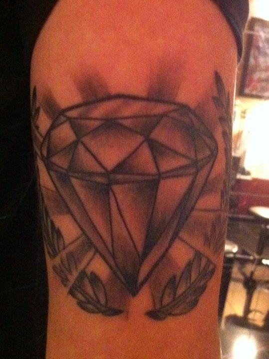 tattoo tatouage noir et blanc diamant conception de. Black Bedroom Furniture Sets. Home Design Ideas