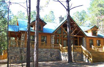 Cabin At Broken Bow Lake In Oklahoma