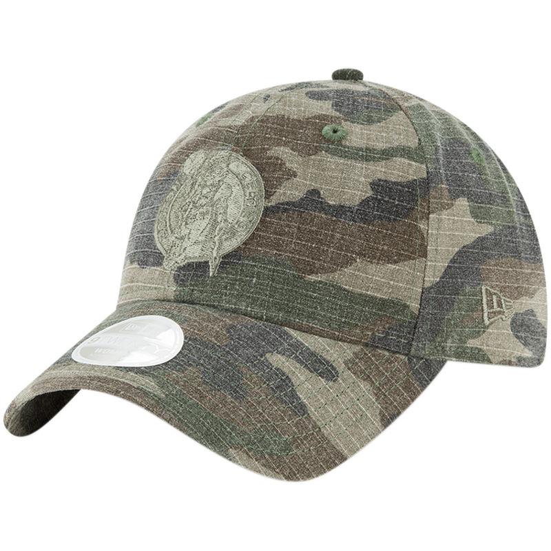 new styles fd751 c64ee Boston Celtics New Era Women s Core Classic 9TWENTY Adjustable Hat – Camo