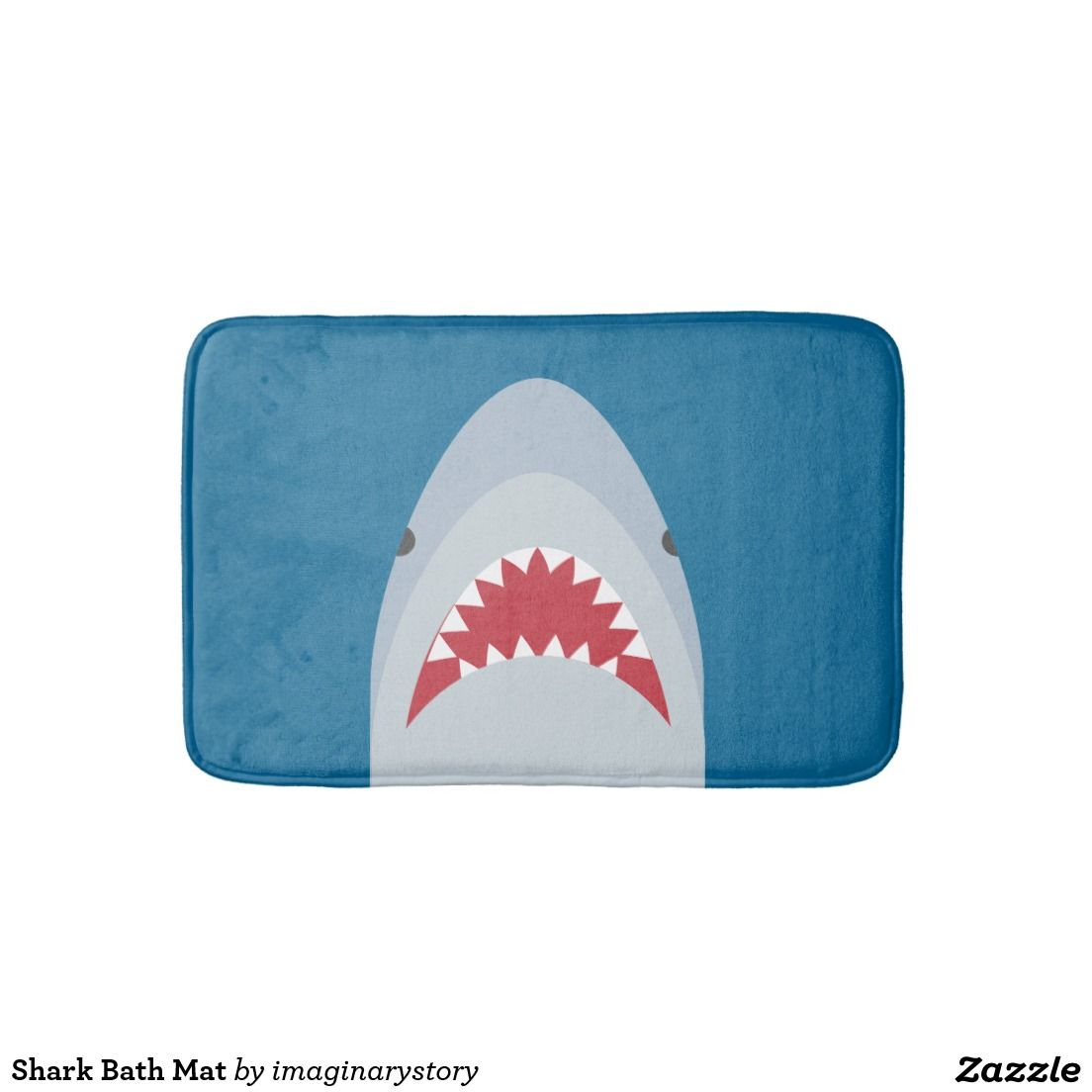 Shark Bath Mat Zazzle Com Bath Mat Shark Car Air
