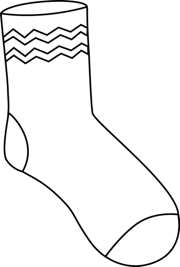 black and white funky sock pinterest funky rh pinterest ie stock clipart free sock clip art black and white