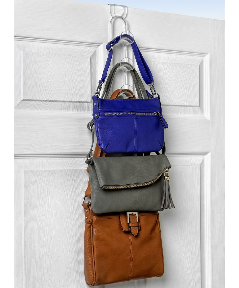 This Over The Door Purse Hanger Gives You A Simple Way To And Organize Purses Right On Household