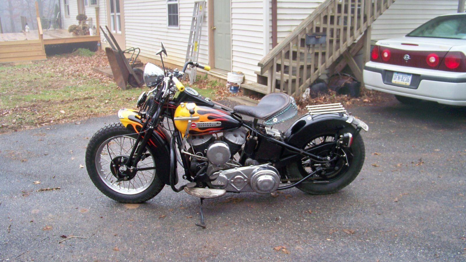 Forsale 1948 Harley Davidson Touring 1948 U Model Harley Davidson