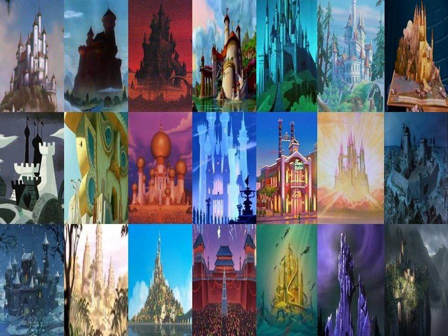 Disney Palaces and Castles in Movies Part 1 by ...