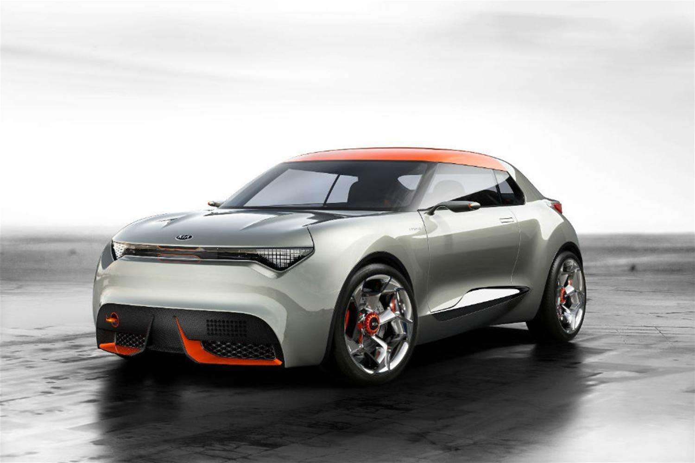 Kia 2 Door Hatchback Concept Concept Cars Hatchback Cars Kia