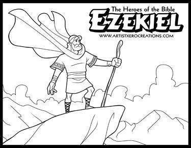 The Heroes Of The Bible Coloring Pages Moses Sunday School