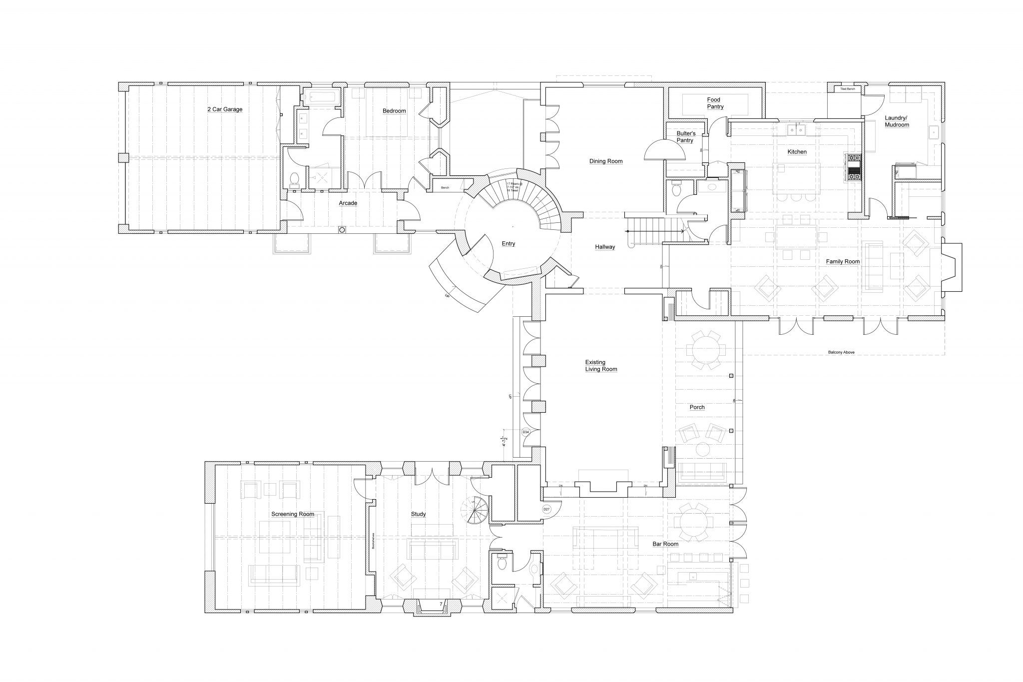 Case De La Torre Michael Burch Architects In 2020 Floor Plans Spanish Colonial My Dream Home