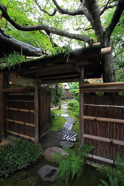 Japanese Garden Entrance Japanese Tea Room Pinterest Japon