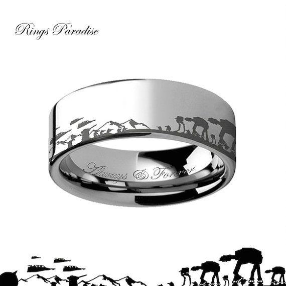 Men Want Pretty Rings Too Pretty Badass Star Wars Ring Star Wars Jewelry Star Wars Hoth