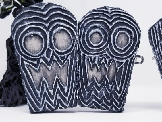 Wiccan Decor Box- Small Coffin Keepsake / Jewelry Box - Witch Box - Goth Gothic Decor - Witch Gift - #wiccandecor