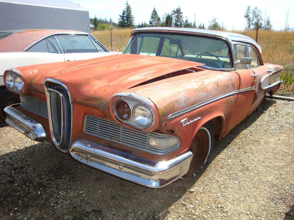1958 Edsel Pacer 4-Door Sedan | Barn Finds,Junk Yard Cars etc ... on