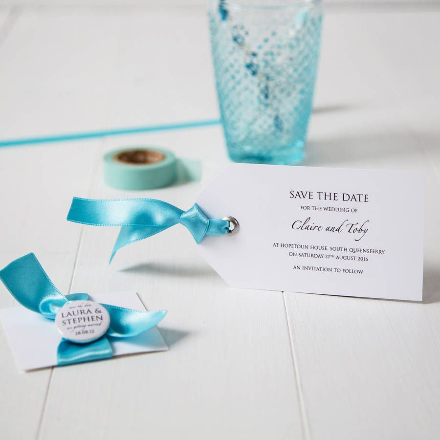 Luggage Tag Wedding Invitation | Weddings and Wedding