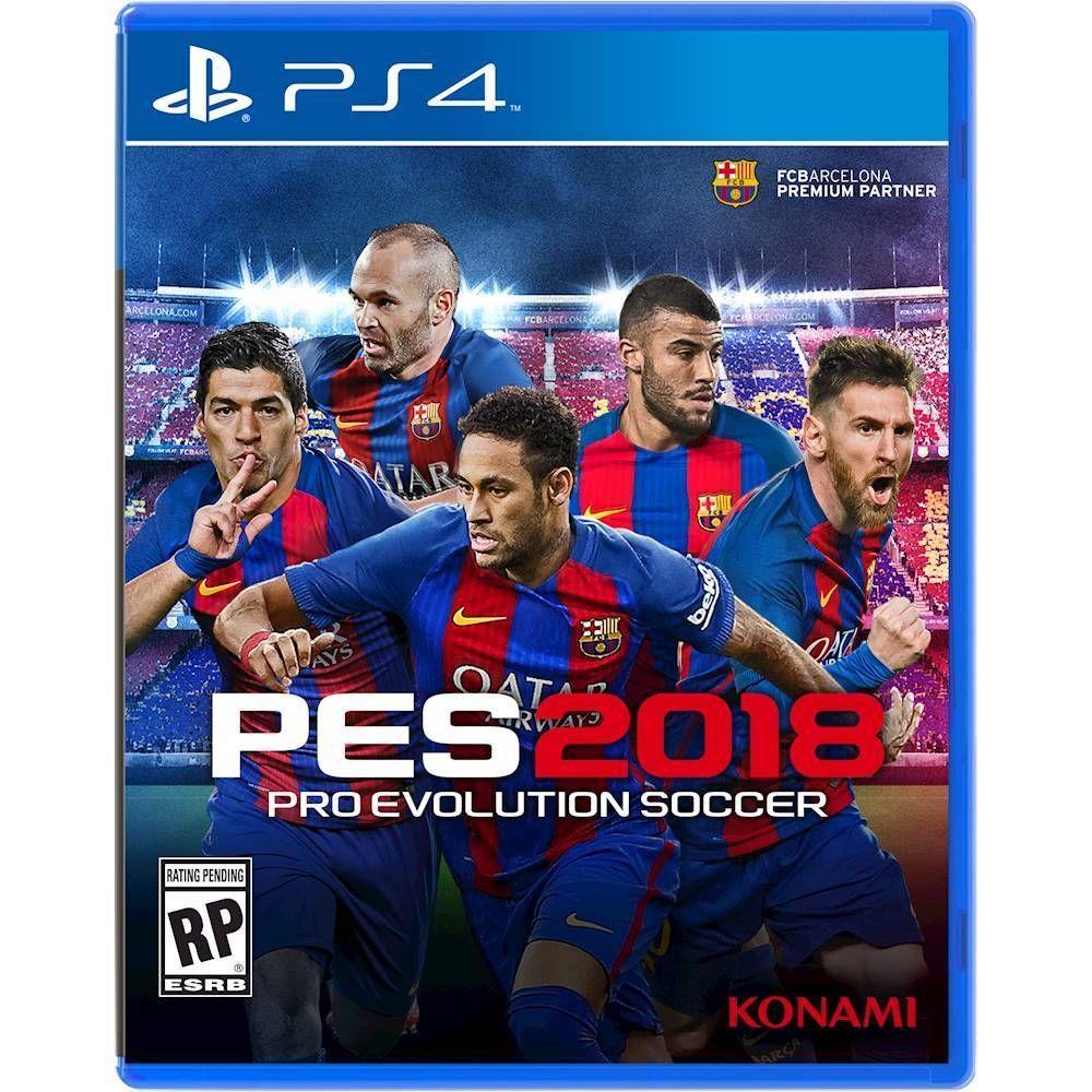 PES 2018 Pro Evolution Soccer PlayStation 4 Pro