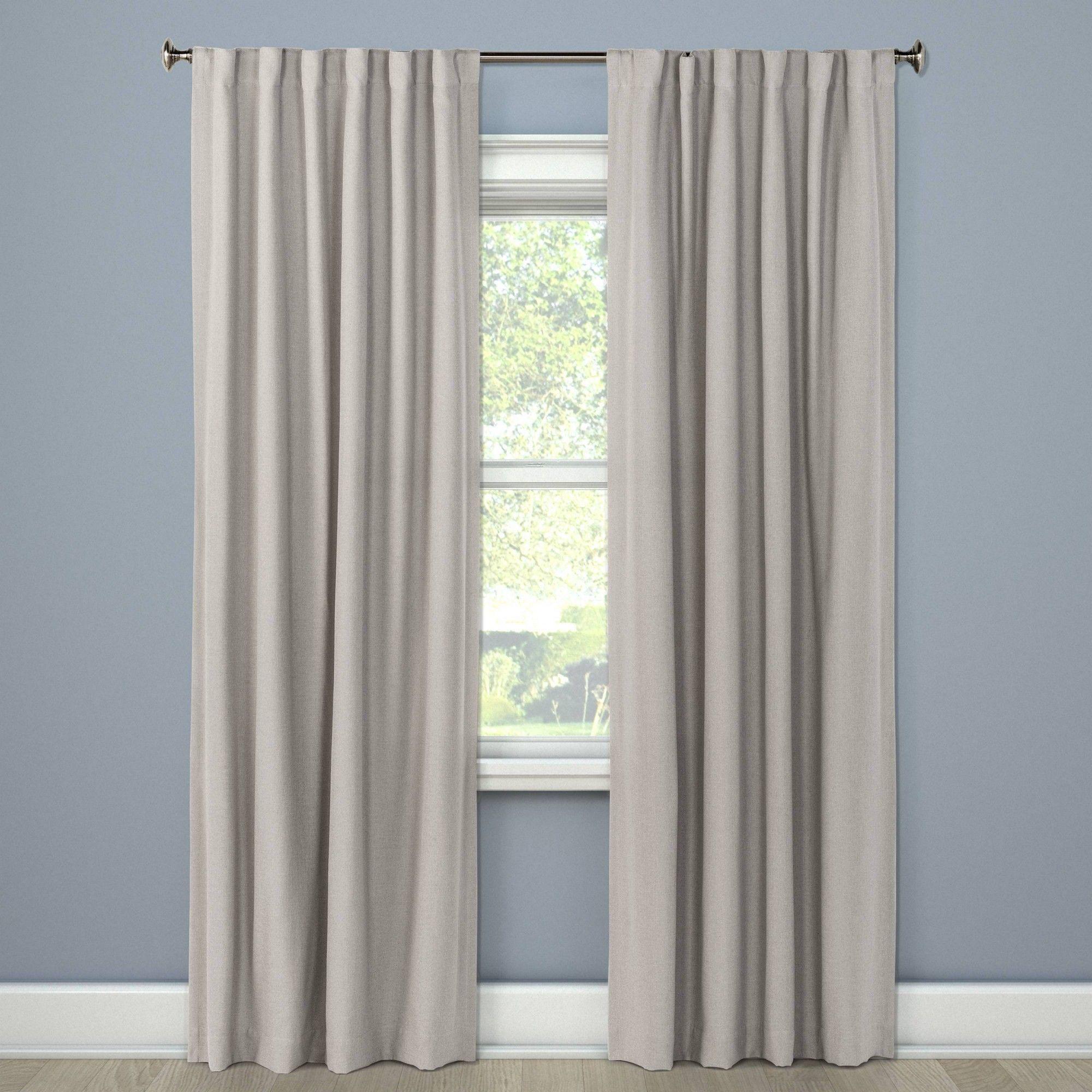 50 X63 Aruba Linen Blackout Curtain Panel Seagull Threshold