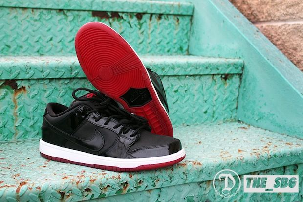 Nike Sb Dunk Low Bred Custom By Dank Customs Nike Pinterest