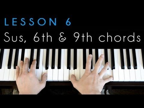 piano 101 lesson 6 sus 6 9 chords http blog rh pinterest com piano lesson manual pdf piano lesson analysis