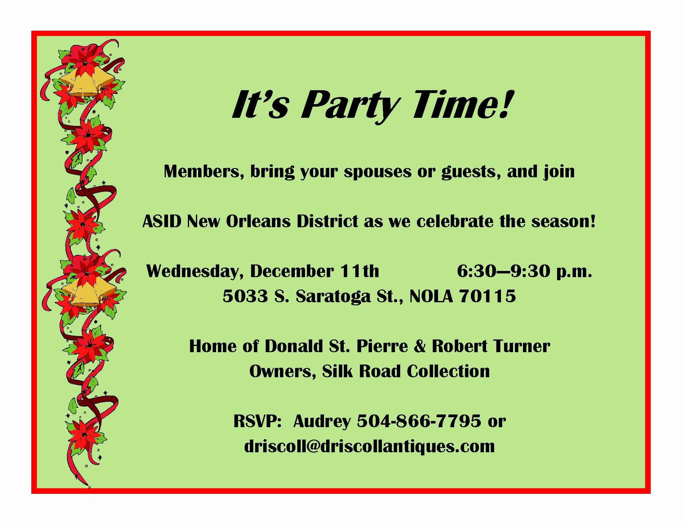Birthday Invitation Email Template Elegant Party Invitation