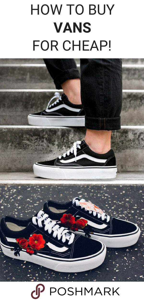 Get Vans for up to 70% off on Poshmark