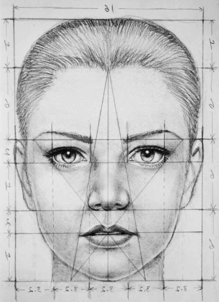 Portrait Drawing Techniques For Beginners Face Portrait Drawing Portrait Drawing Drawings Face Drawing