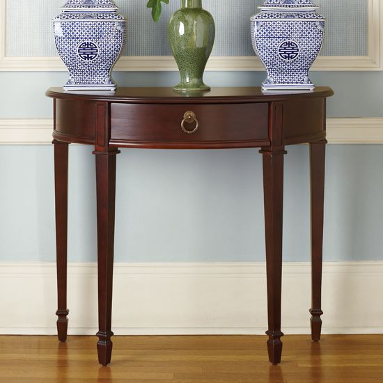 Foyer Furniture Canada : Cotillion demilune bombay canada home sweet