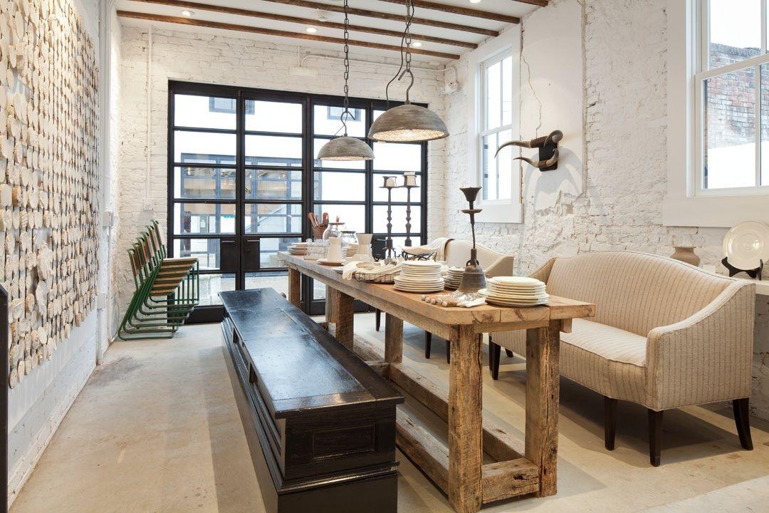 Urban Loft Dining Room Darryl Carter Gordon Beall