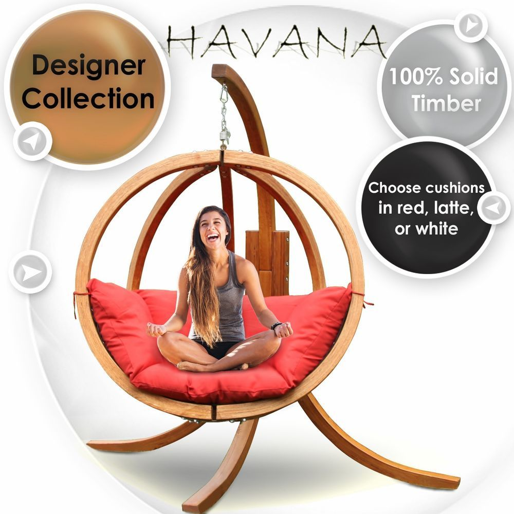Details about New Hanging Egg Round Chair Swing Pod
