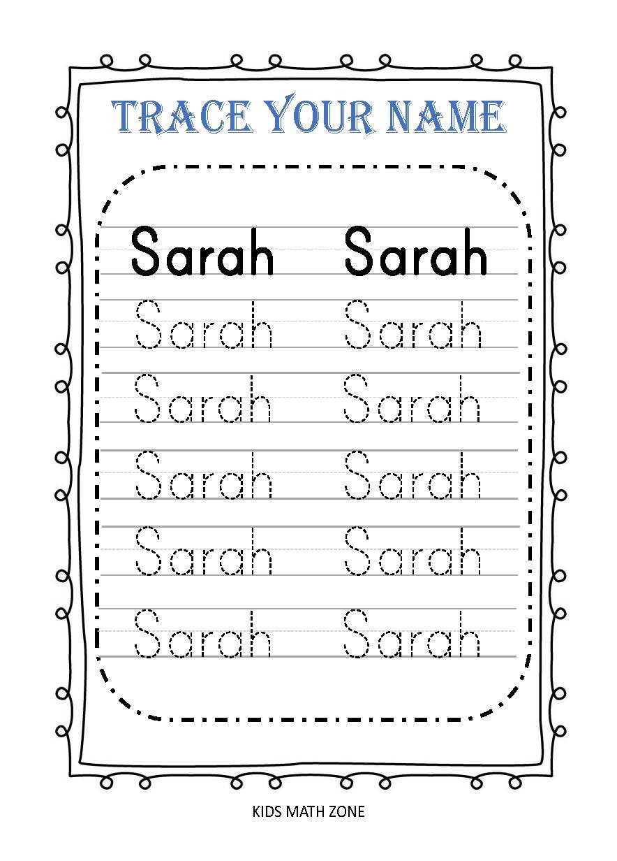 Personalized Trace Your Name Printable Worksheets Custom Etsy In 2020 Name Writing Practice Name Tracing Worksheets Writing Practice Worksheets