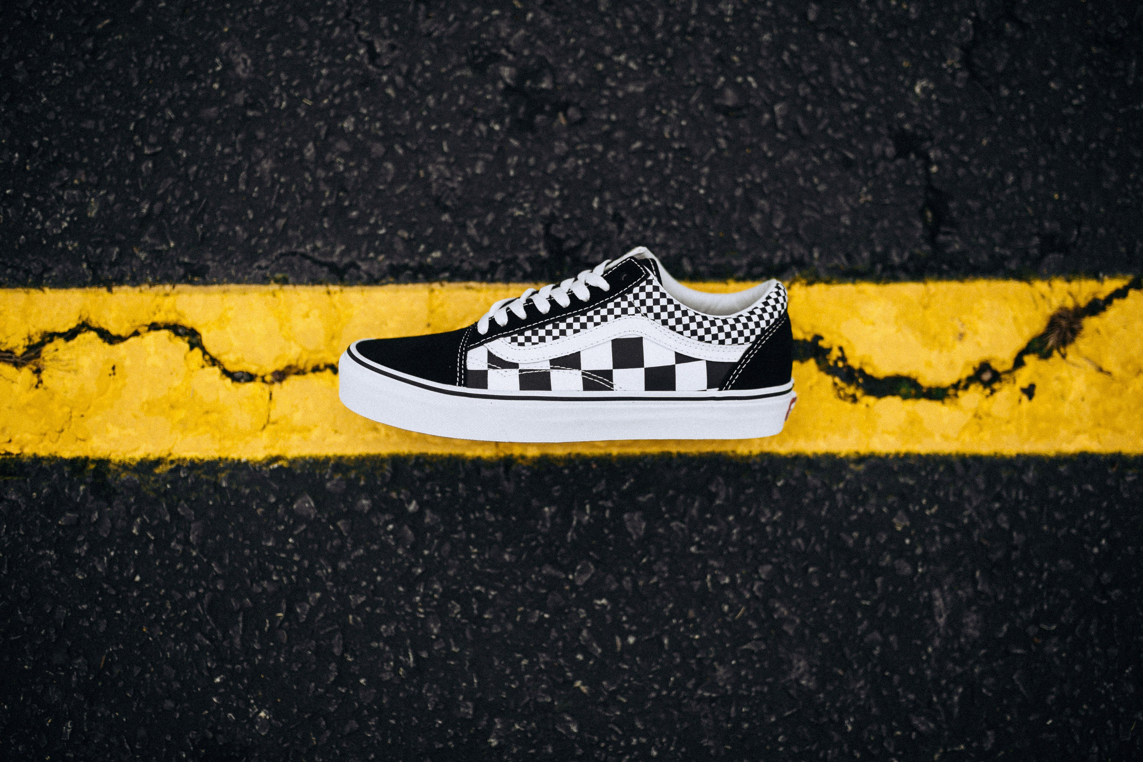 f00584412d7b Vans Old Skool Mix Checker (Black True White)