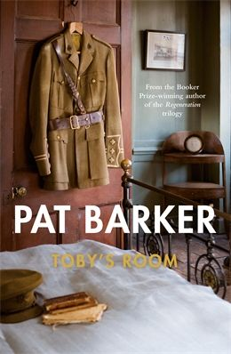 Toby's Room by Pat Barker. Toby and Elinor, brother and sister, friends and confidants, are sharers of a dark secret, carried into the battlefields of France. When Toby is reported 'Missing, Believed Killed', another secret casts a lengthening shadow over Elinor's world: how exactly did Toby die - and why? Enlisting the help of former lover Paul Tarrant, Elinor determines to uncover the truth. Only then can she finally close the door to Toby's room.