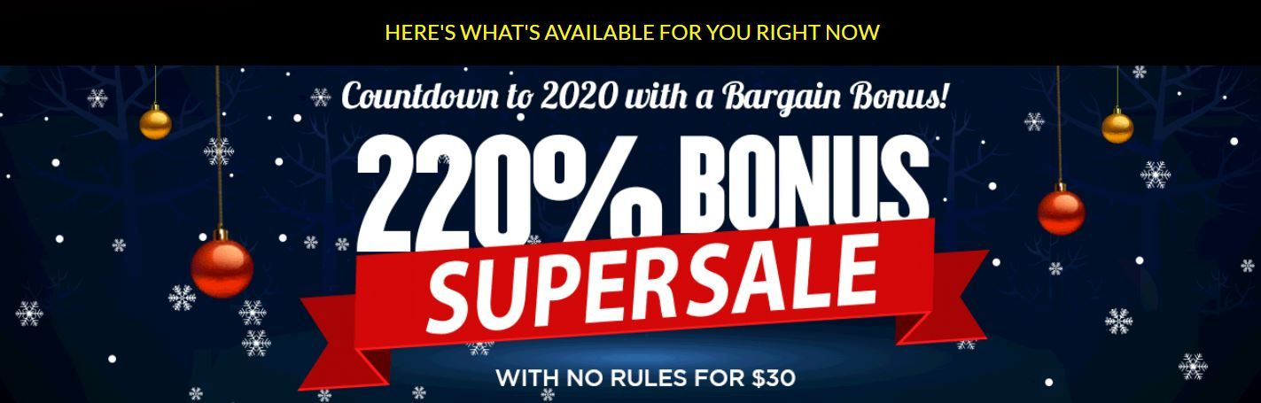 Weekend casino bonus specials for players from Australia – top offers