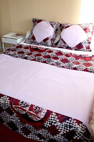 Pin by Afrikrea.on African Home Decor | Draps de lit, Housse