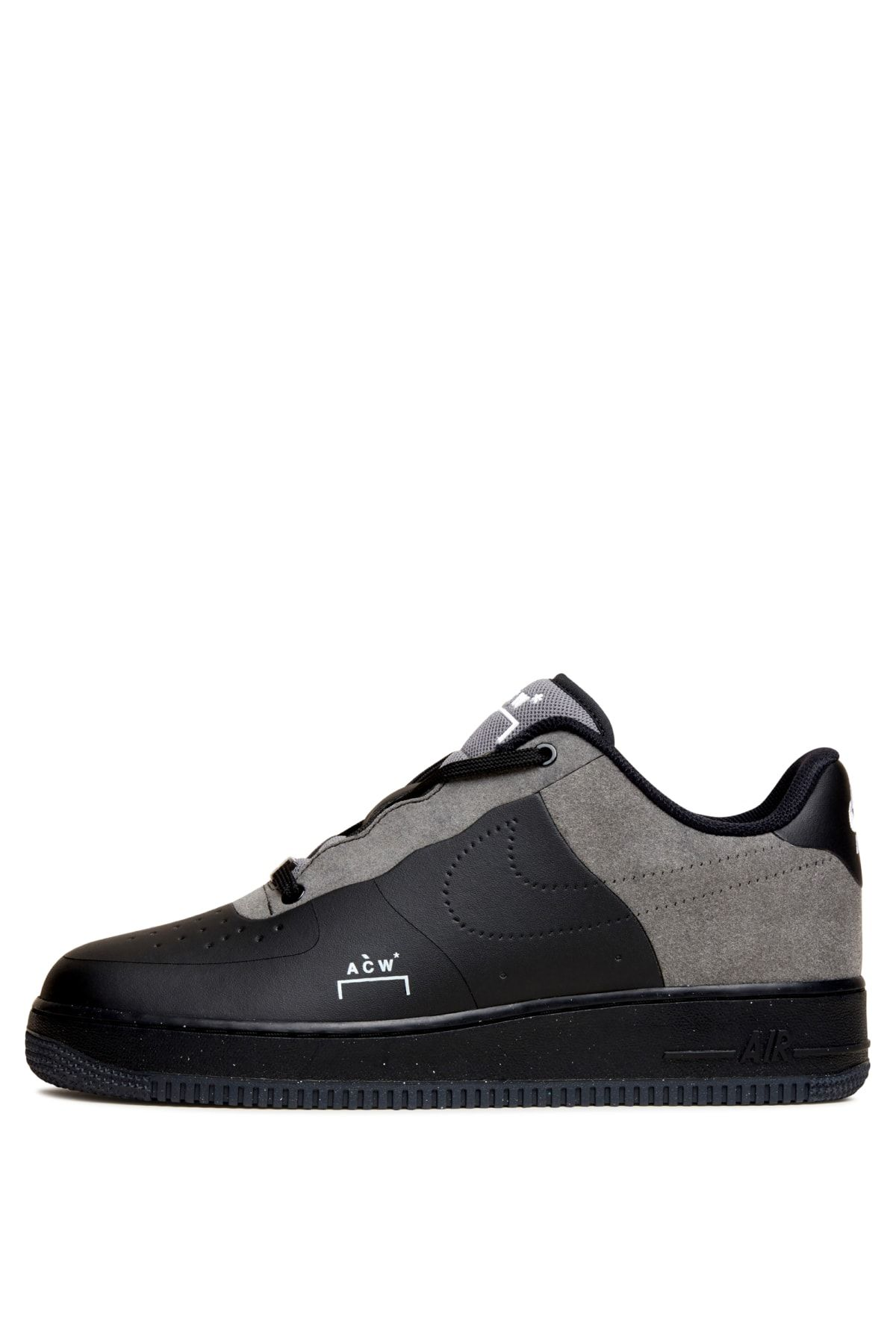 new concept 1b9f0 1ed1b Nike x ACW Air Force 1 - Jet BlackFlyleather - A-COLD