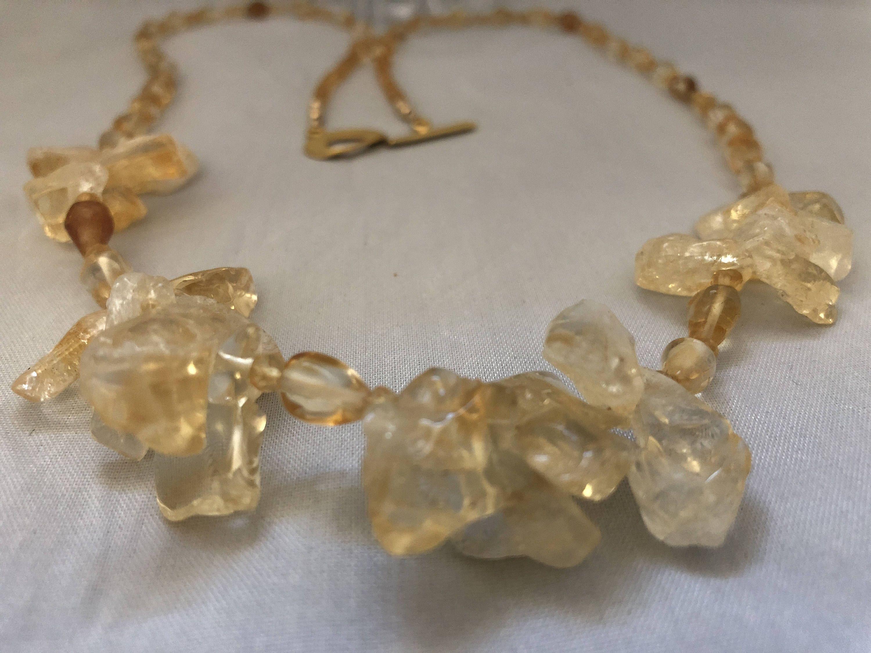 Citrine necklace citrine necklace necklace citrine