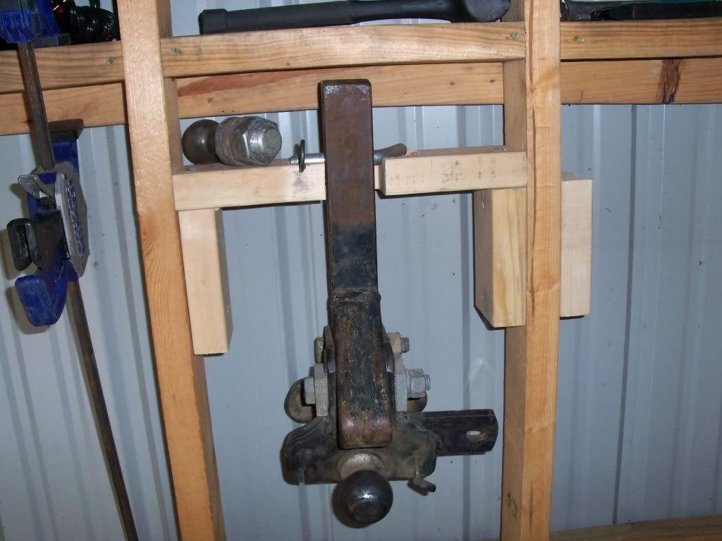 Reciever hitch storage ideas the garage journal board