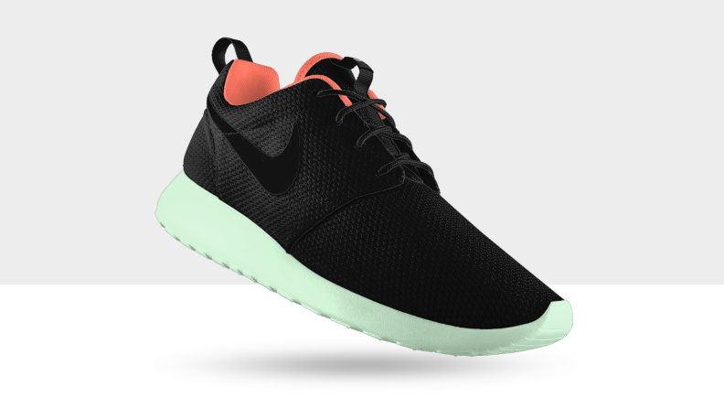 The Nike Roshe Run is now live on NIKEiD, available in both mesh and suede  options.