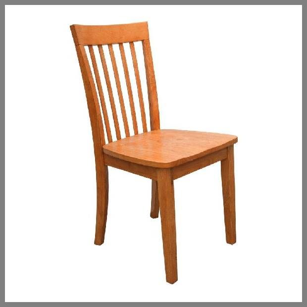 Solid Wood Dining Chair | Maple Dining Chairs Example. Pictured: Maple Solid  Wood Dining