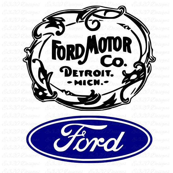 Very Cool Version Of The Ford Logo Paul Rand Logos Corporate